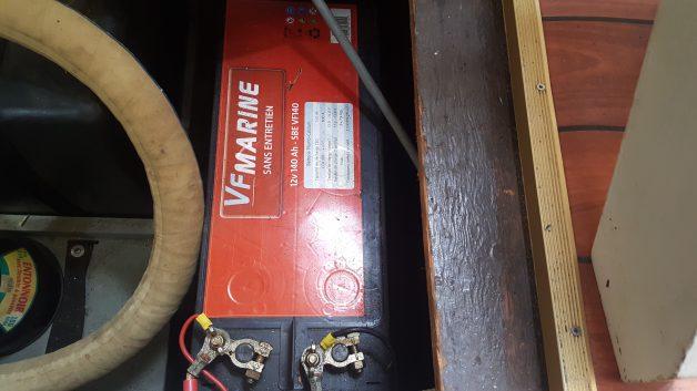 Batterie de navigation sans entretien (juin 2015)